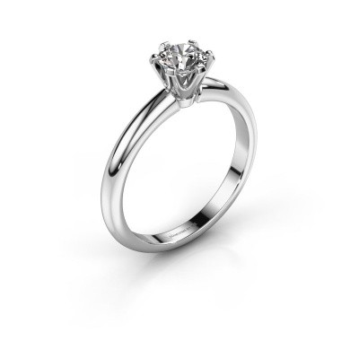 Foto van Verlovingsring Tiffy 1 585 witgoud diamant 0.50 crt