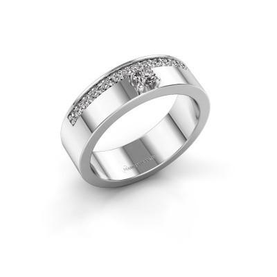 Ring Vicki 585 witgoud diamant 0.295 crt