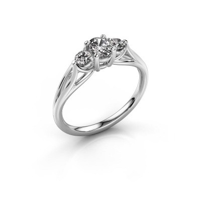 Picture of Engagement ring Amie OVL 585 white gold diamond 1.00 crt
