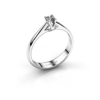 Foto van Verlovingsring Janna 1 585 witgoud diamant 0.15 crt