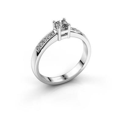 Verlovingsring Eline 2 585 witgoud diamant 0.32 crt