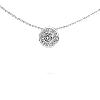Picture of Necklace Gretta 585 white gold diamond 0.37 crt