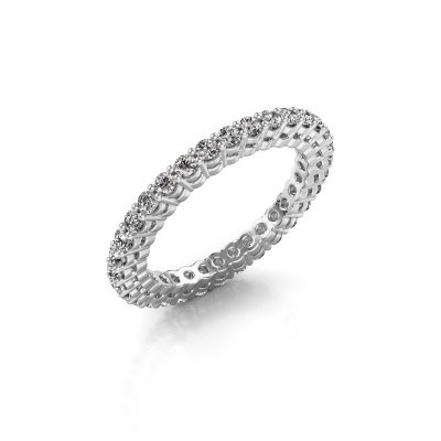 Picture of Stackable ring Rufina 3 585 white gold diamond 0.896 crt