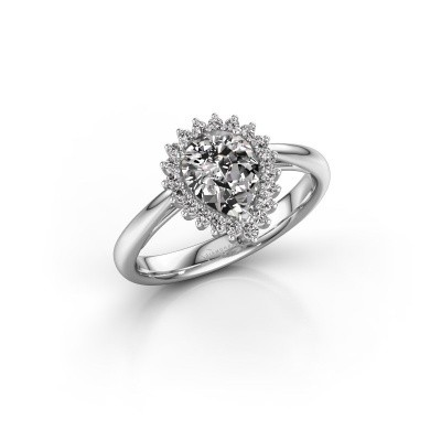 Picture of Engagement ring Chere 1 585 white gold diamond 1.100 crt