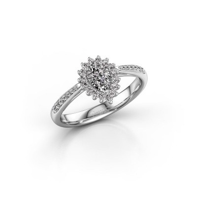 Picture of Engagement ring Chere 2 585 white gold diamond 0.66 crt