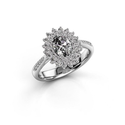 Picture of Engagement ring Alina 2 585 white gold diamond 1.326 crt