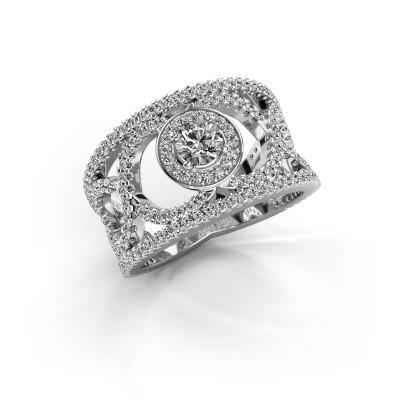 Foto van Ring Regina 925 zilver diamant 1.25 crt