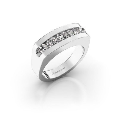 Foto van Heren ring Richard 375 witgoud diamant 1.110 crt