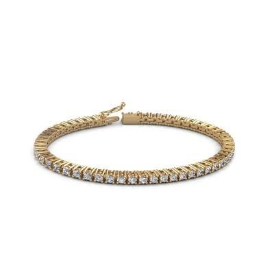 Foto van Tennisarmband Petra 375 goud diamant 5.10 crt