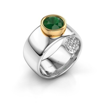 Picture of Ring Klarinda 585 white gold emerald 7 mm