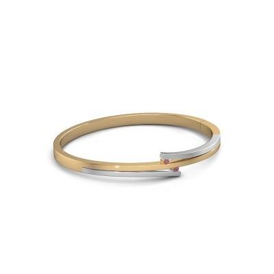 Foto van Armband Roxane 585 goud rhodoliet 2 mm