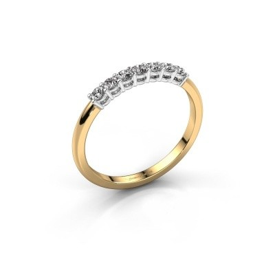 Verlovings ring Michelle 7 585 goud diamant 0.21 crt