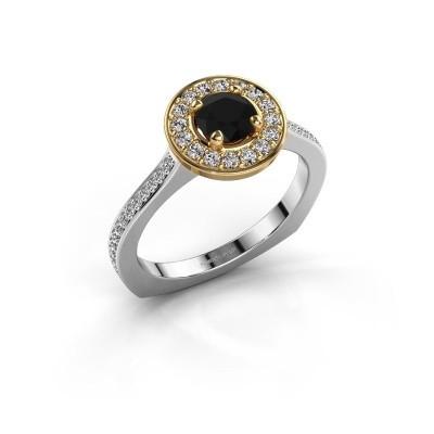 Bild von Ring Kanisha 2 585 Weissgold Schwarz Diamant 0.972 crt