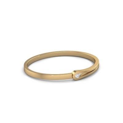 Foto van Slavenarmband Kiki 585 goud diamant 0.25 crt