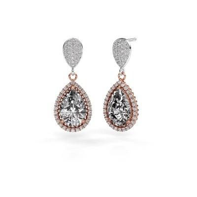 Bild von Ohrhänger Cheree 2 585 Roségold Diamant 6.690 crt