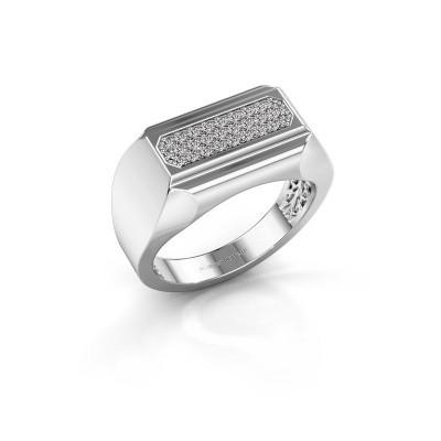 Foto van Heren ring Gerard 950 platina diamant 0.30 crt