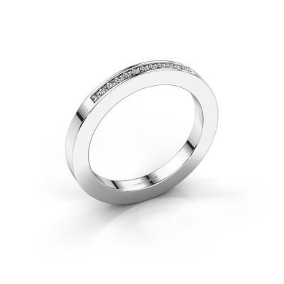 Aanschuifring Loes 1 585 witgoud diamant 0.08 crt