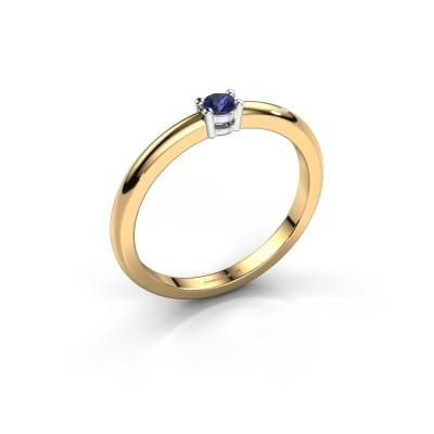 Foto van Verlovingsring Michelle 1 585 goud saffier 2.7 mm