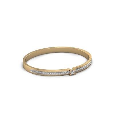 Picture of Bracelet Myrthe 585 gold diamond 0.742 crt