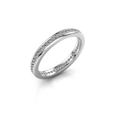 Picture of Stackable ring Lura 1 585 white gold diamond 0.49 crt