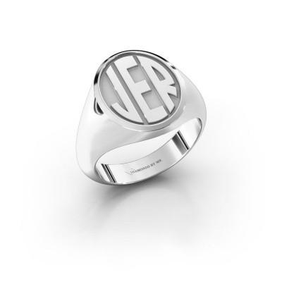 Foto van Monogram ring Paul 925 zilver