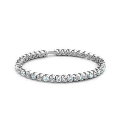 Foto van Tennisarmband Mellisa 585 witgoud diamant 7.200 crt