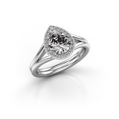 Picture of Engagement ring Elenore 585 white gold diamond 1.097 crt