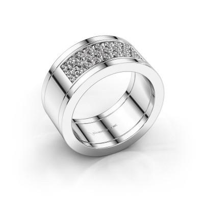 Ring Marita 6 585 witgoud diamant 0.46 crt