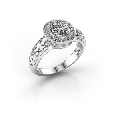 Foto van Ring Katalina 925 zilver diamant 0.62 crt