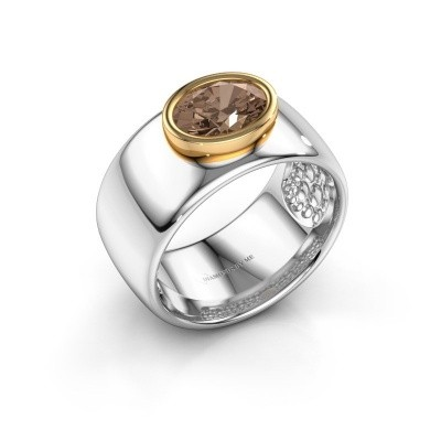 Picture of Ring Anouschka 585 white gold brown diamond 1.15 crt