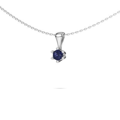 Picture of Necklace Fay 950 platinum sapphire 4 mm