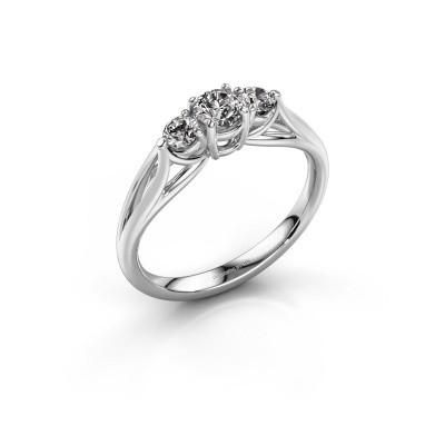 Foto van Verlovingsring Amie RND 585 witgoud diamant 0.50 crt