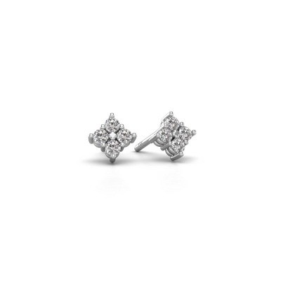 Picture of Stud earrings Maryetta 925 silver diamond 0.24 crt