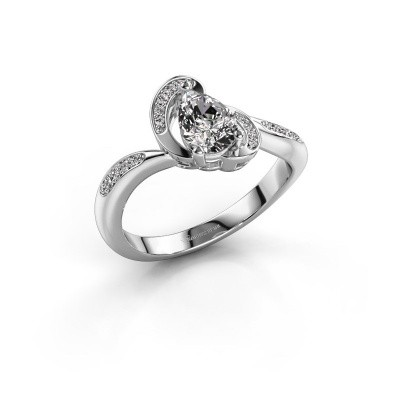 Foto van Ring Jonelle 950 platina diamant 0.748 crt