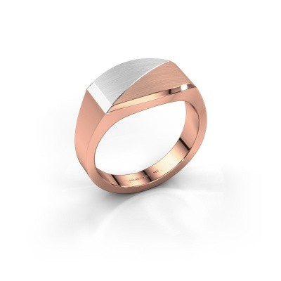 Heren ring Joe 4 585 rosé goud