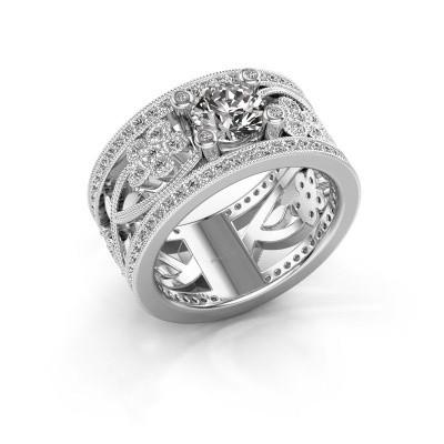 Foto van Ring Severine 925 zilver diamant 1.405 crt