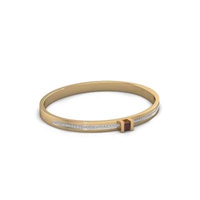 Foto van Armband Desire 585 goud granaat 4 mm