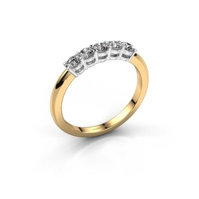 Foto van Promise ring Michelle 5 585 goud diamant 0.40 crt