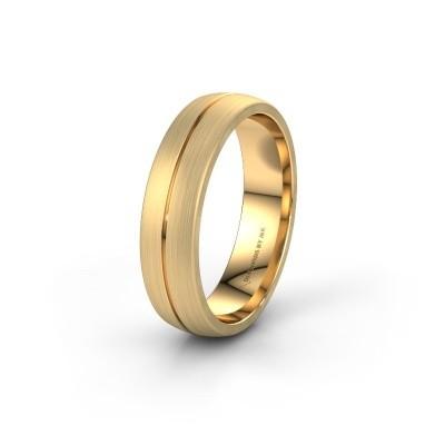 Trouwring WH0162M25A 585 goud ±5x1.7 mm