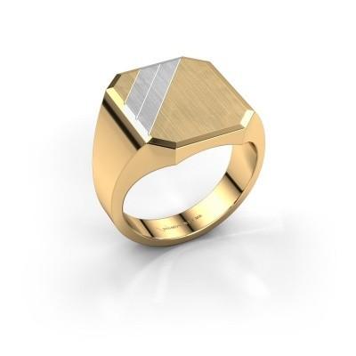 Zegelring Jack 4 585 goud