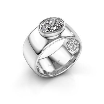 Foto van Ring Anouschka 925 zilver diamant 1.15 crt