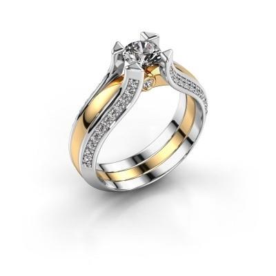 Verlovingsring Nadine 585 goud diamant 0.86 crt