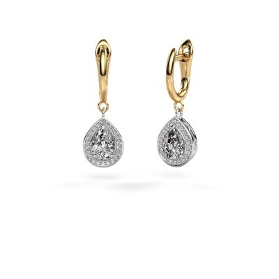 Picture of Drop earrings Ginger 1 585 white gold diamond 1.41 crt