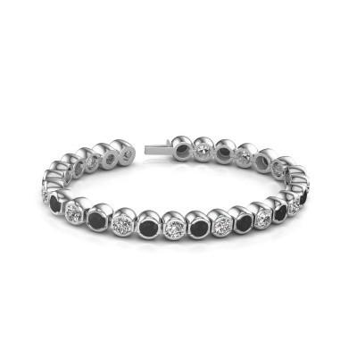 Foto van Tennisarmband Delma 585 witgoud diamant 7.00 crt