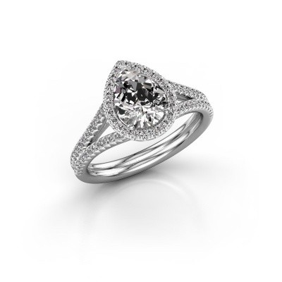 Picture of Engagement ring Elenore 2 585 white gold diamond 1.337 crt
