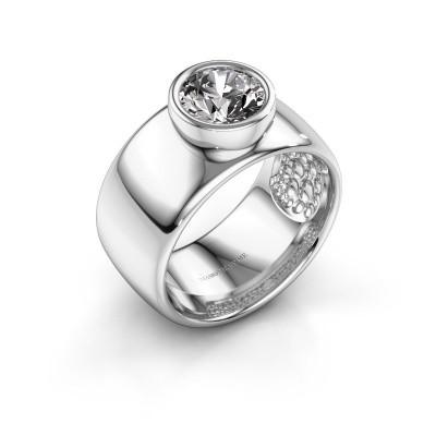 Foto van Ring Klarinda 925 zilver diamant 1.30 crt