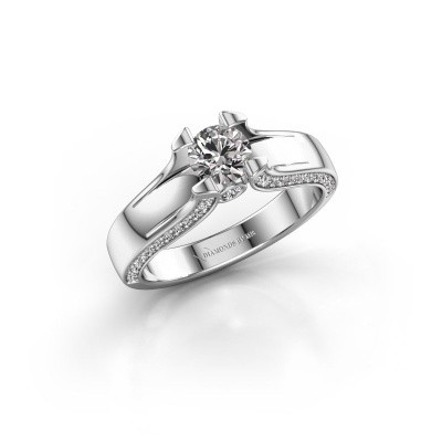 Picture of Engagement ring Jeanne 1 585 white gold diamond 0.82 crt