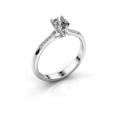 Foto van Aanzoeksring Isa 2 585 witgoud diamant 0.35 crt