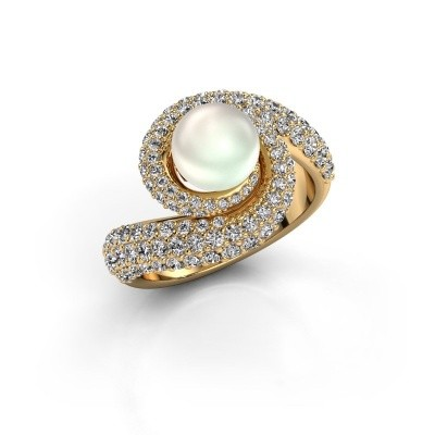Foto van Ring Klasina 375 goud witte parel 7 mm