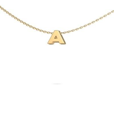 Foto van Letter hanger Initial 020 585 goud